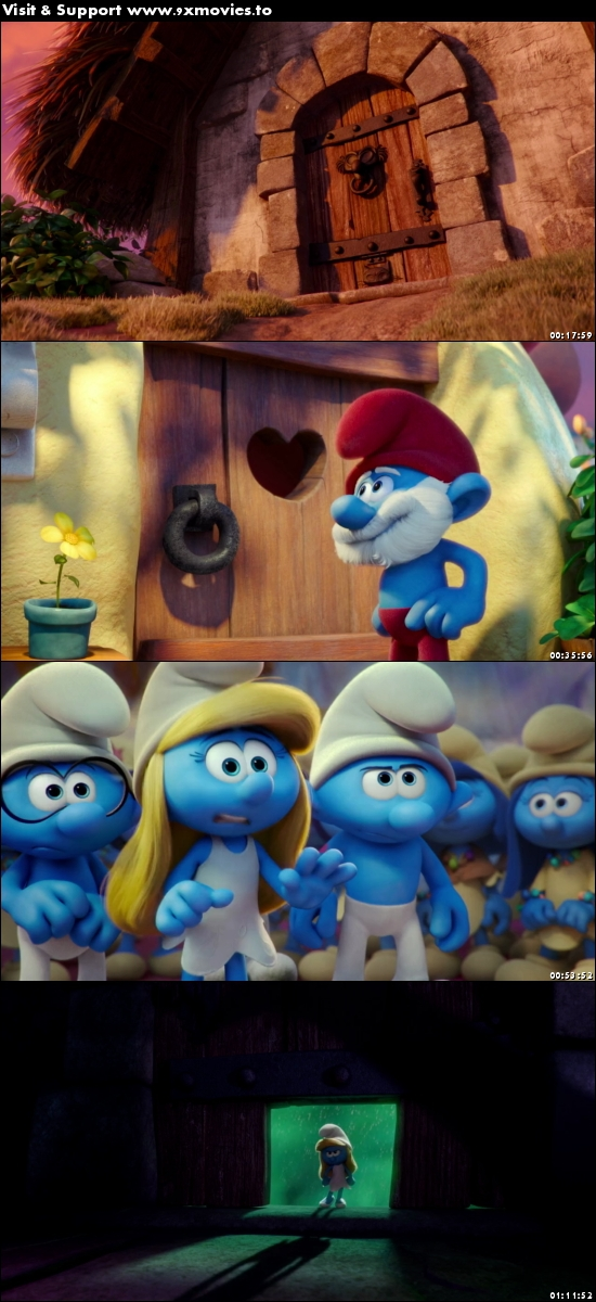Smurfs The Lost Village 2017 English 720p BRRip 800MB ESubs