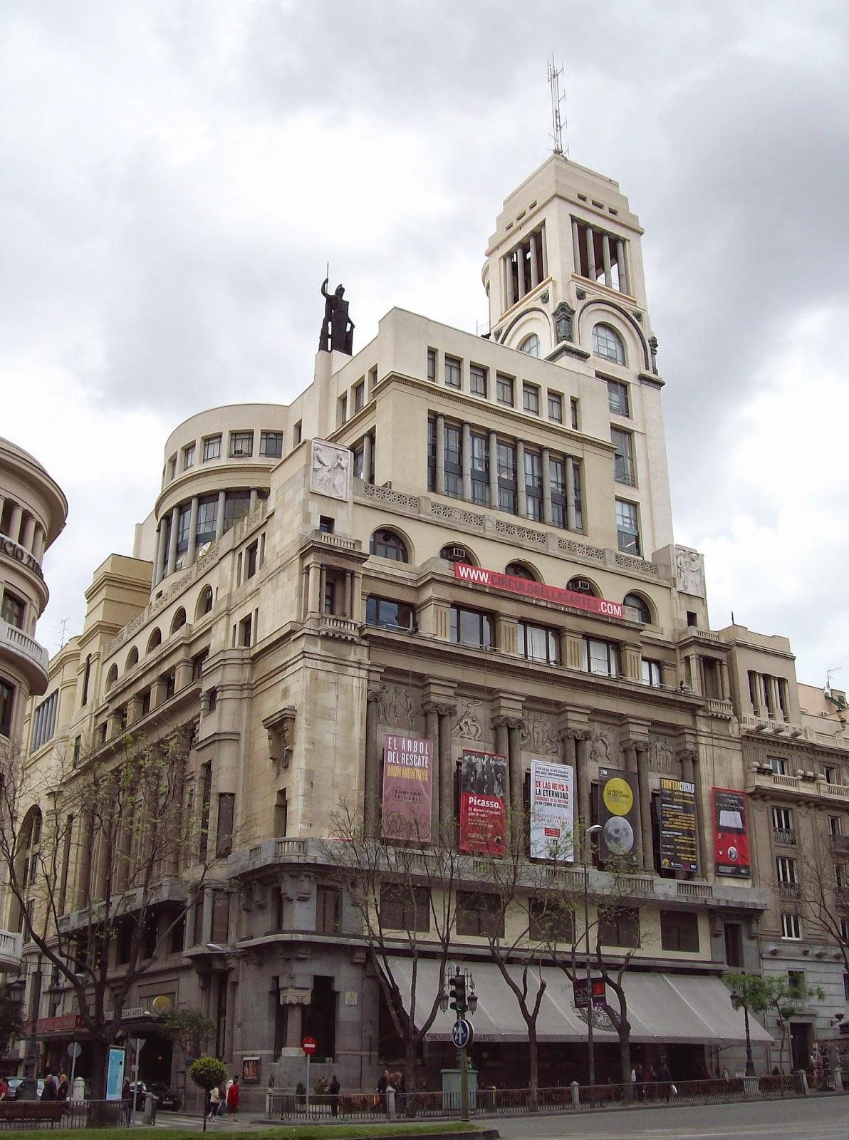 Fotografosnovatos2014 Terraza Circulo De Bellas Artes