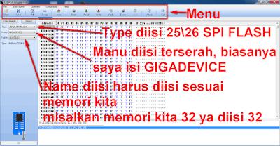 Cara flash receiver dengan CH341A