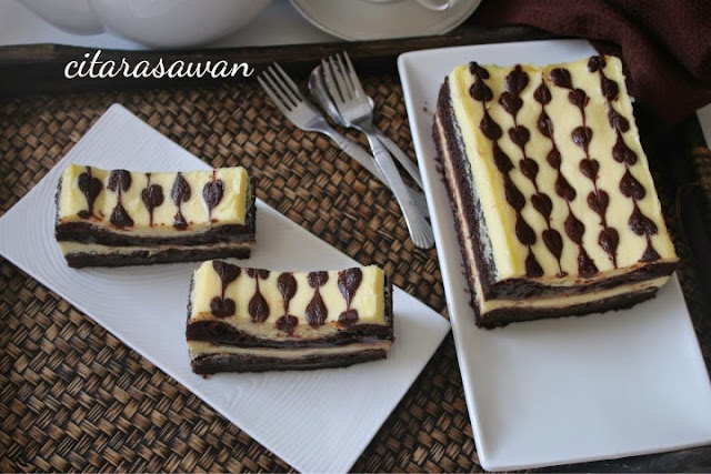 Resepi Kek Lapis Kukus Cream Cheese