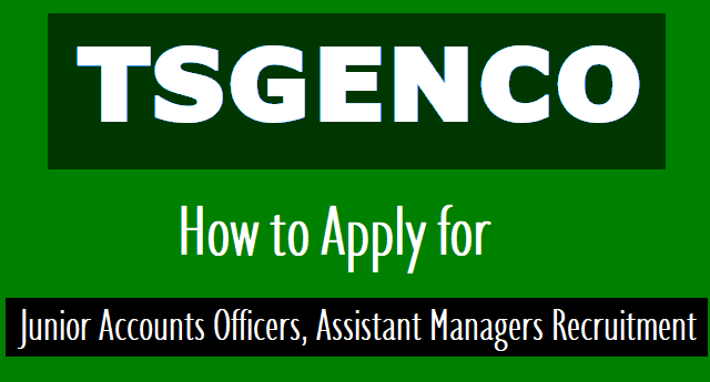how to apply for tsgenco jao junior accounts officers, assistant managers (hr) recruitment 2018,how to fill the online application form for tsgenco jao junior accounts officers,assistant managers recruitment 2018,online application form filling instructions for tsgenco jao junior accounts officers, assistant managers recruitment