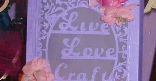 Live Love Craft Luminary