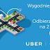 2 x 50 zł na przejazdy UBER za kupno biletów kolejowych przez SkyCash