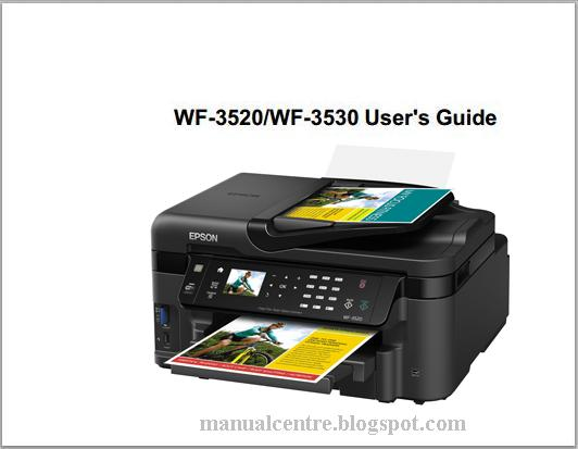Epson WorkForce WF-3520 Manual Cover