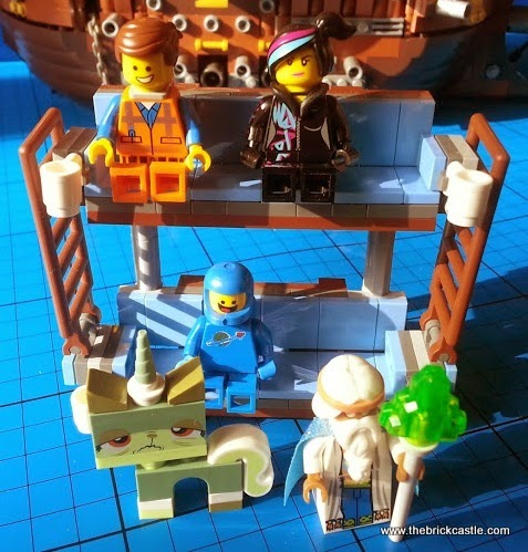 Vitruvius Lolly Stick Benny on Double Decker Couch