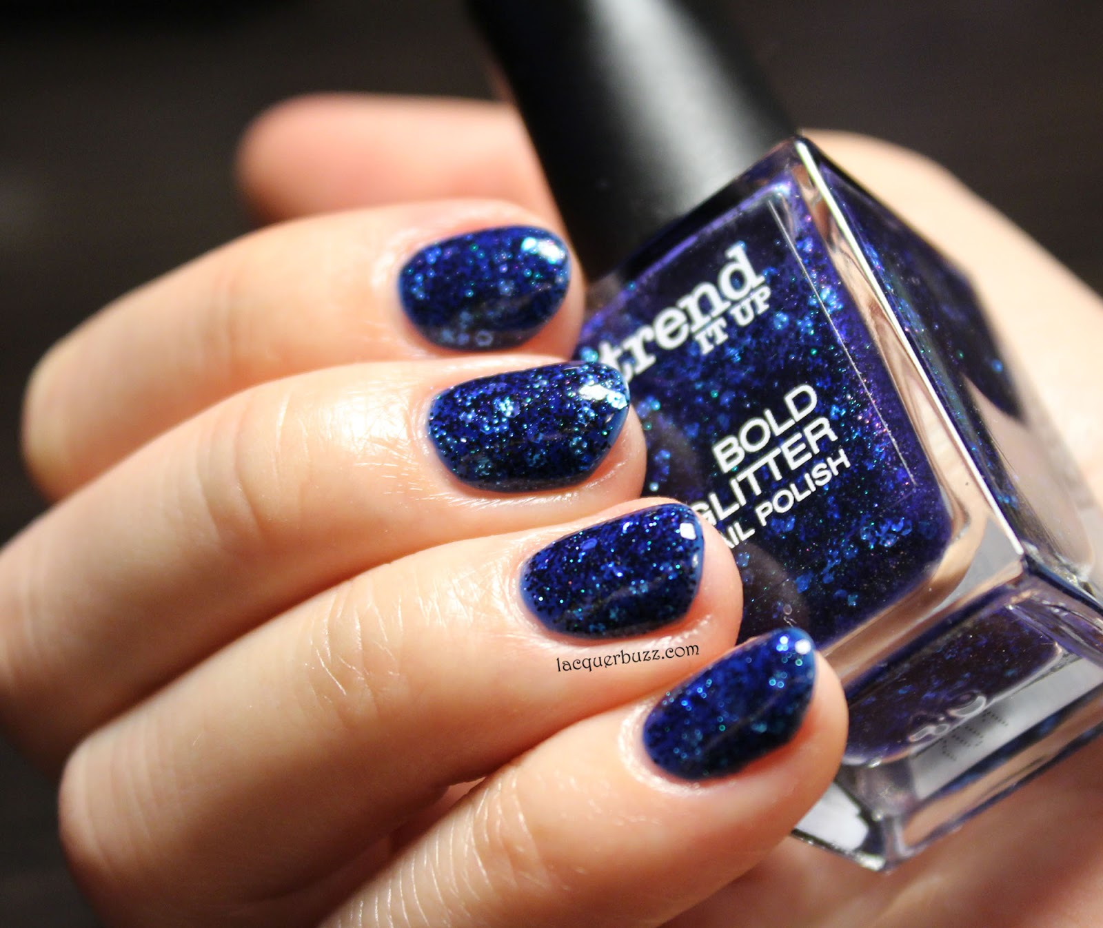 Lacquer Buzz: Monday Blues: Trend It Up Bold Glitter 030