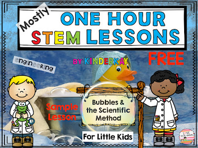 https://www.teacherspayteachers.com/Product/Mostly-One-Hour-STEM-Lessons-I-CAN-BE-A-SCIENTIST-For-Kindergarten-Sample-2612054