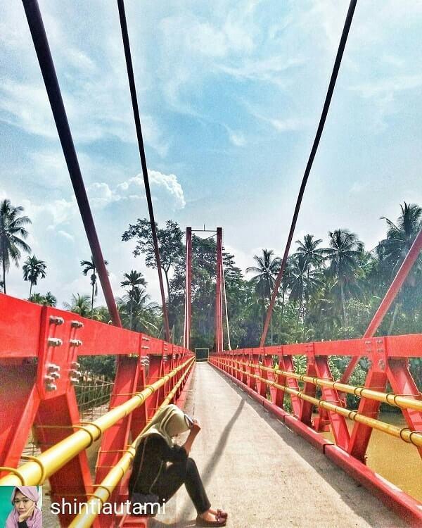 jembatan merah wonosobo tanggamus
