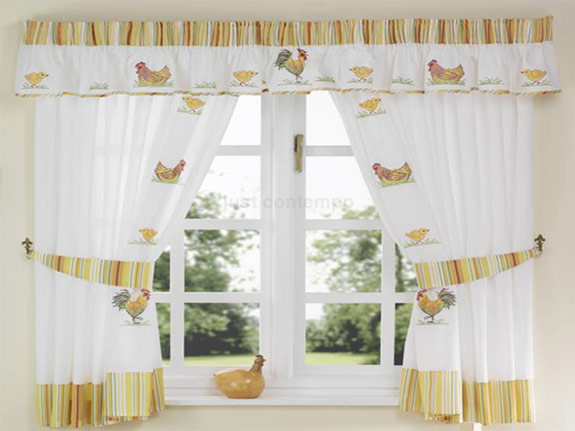 27+ Brand New Kitchen Curtain Patterns That Everyone Can Afford