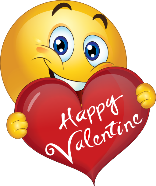 Darling Valentine Smiley