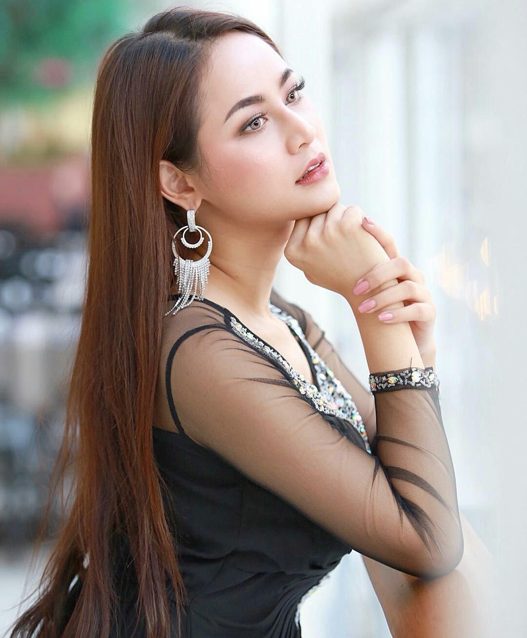 handsome thai model
