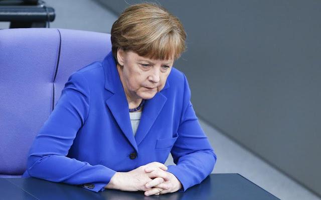 Η Μέρκελ ανακοίνωσε ότι η (γερμανική) Ευρώπη είναι απέναντι στις ΗΠΑ