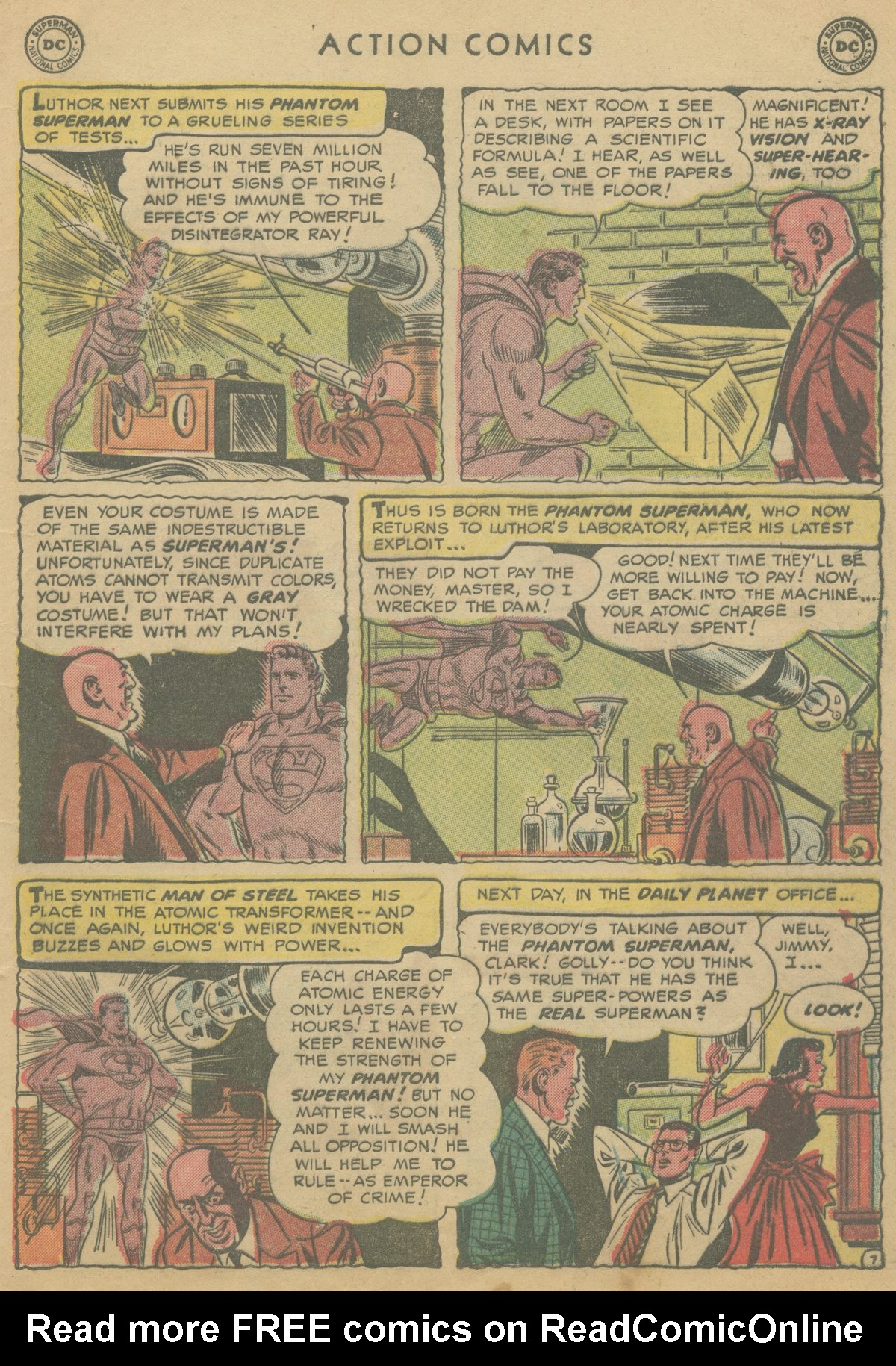 Read online Action Comics (1938) comic -  Issue #199 - 10