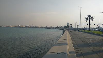 Doha Qatar Strand Road
