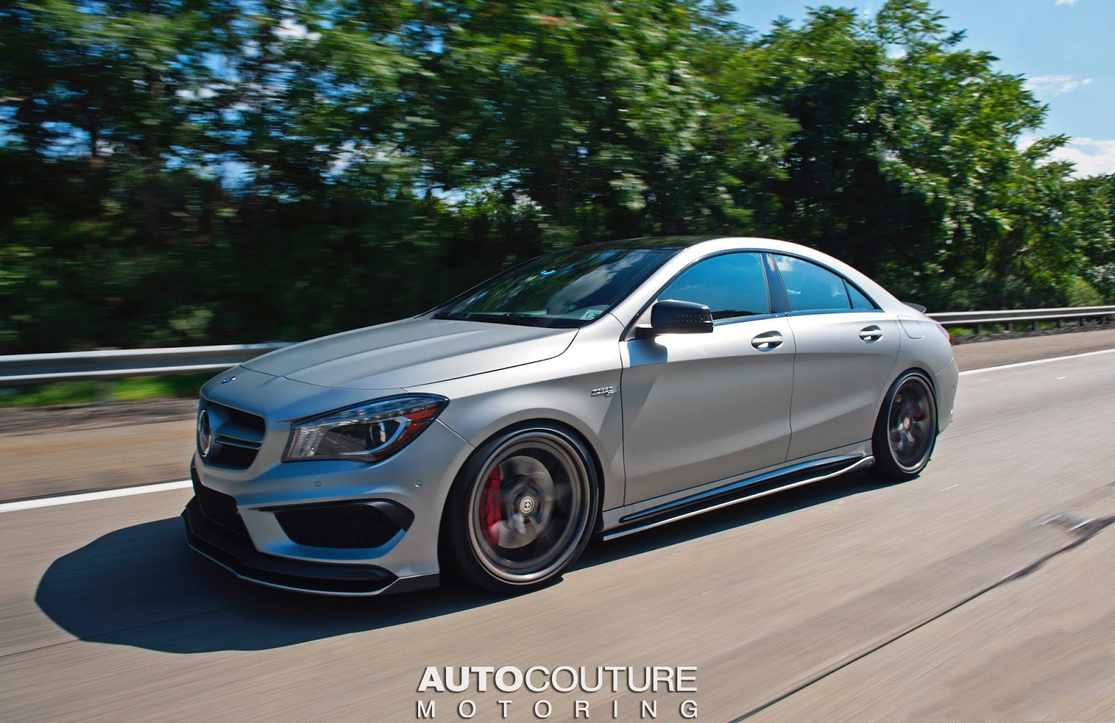 Mercedes Benz Cla 45 Amg With Some Styling Grunt Carscoops