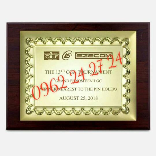 cơ sở bán biểu trưng gỗ đồng, địa chỉ sản xuất bằng khen nhân viên, bằng chứng nhận cao cấp - 260088