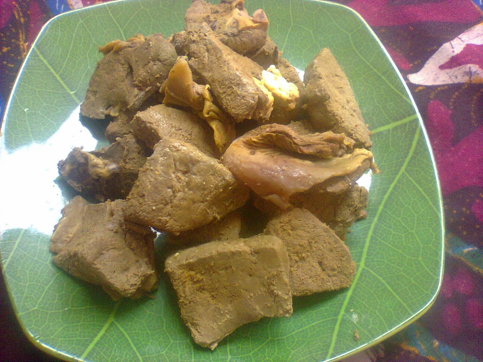 Resep Hati Sapi Bumbu Kuning ~ Dapur Onlineku
