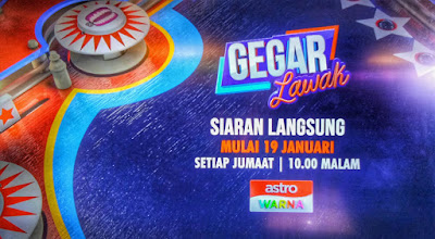 Live Streaming Program Gegar Lawak 2018 Online