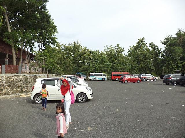 Lokasi parkir wisata wego Lamongan