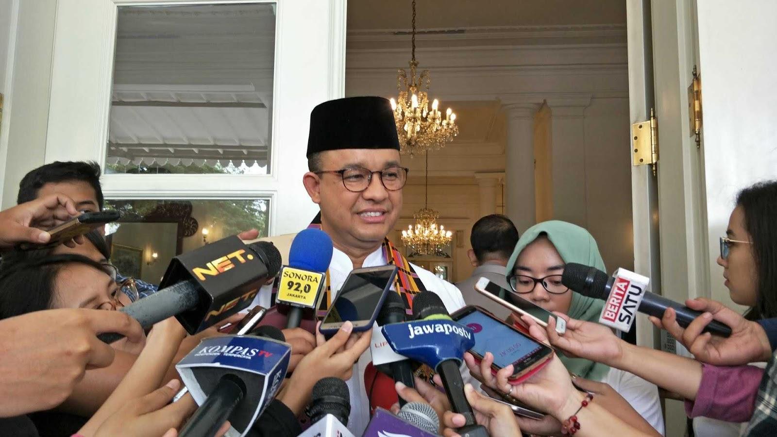 Sindir Ahok, Anies Pede Ngomong : Bandingkan Saja, Dulu Tim Gubernur Dibiayai Siapa...