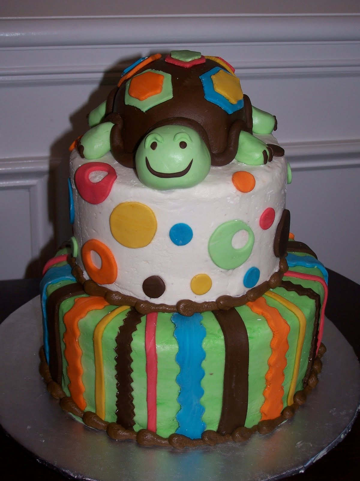 Creative Cakes N More Turtle Tier