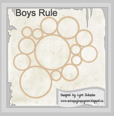 Boys Rule Circle