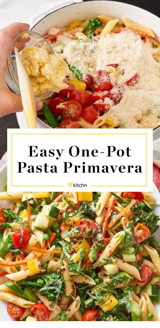How To Make One-Pot Pasta Primavera