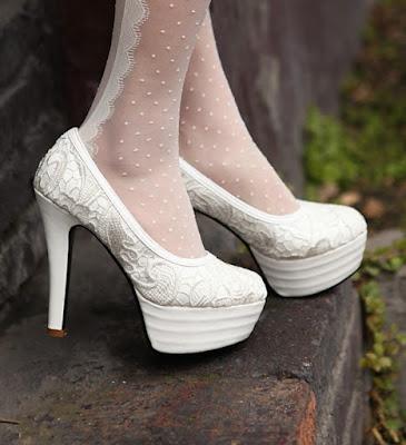 modelos de Zapatos blancos