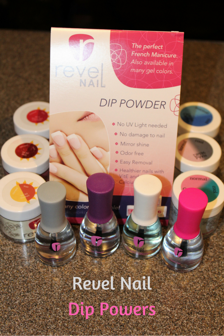 Mom Among Chaos: Revel Nail Dip Powder New Colors