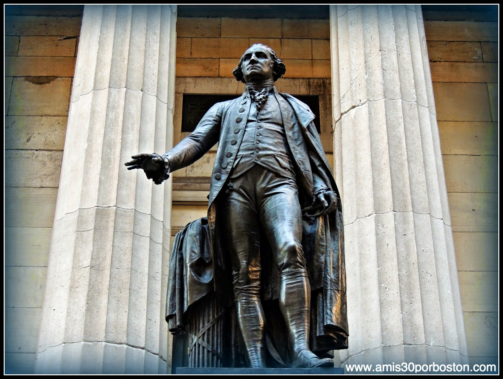 Segunda Visita a Nueva York: Escultura de George Washington en el Federal Hall