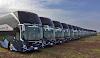 La empresa mexicana Omnibus de México, recibió 20 unidades  Volvo 9800 DD