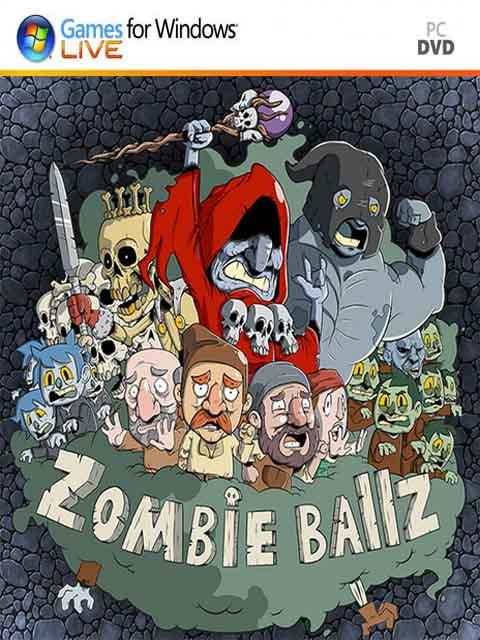 تحميل لعبة Zombie Ballz برابط مباشر + تورنت