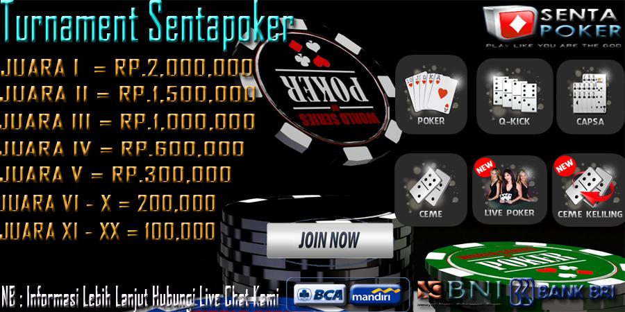 Sentapoker,com Event Turnamen Bulanan Event%2Bturnamet