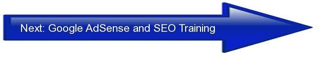 Next: Google AdSense and SEO Training