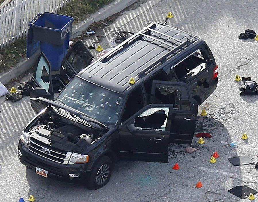 The San Bernardino Mass Shooting Getaway Car