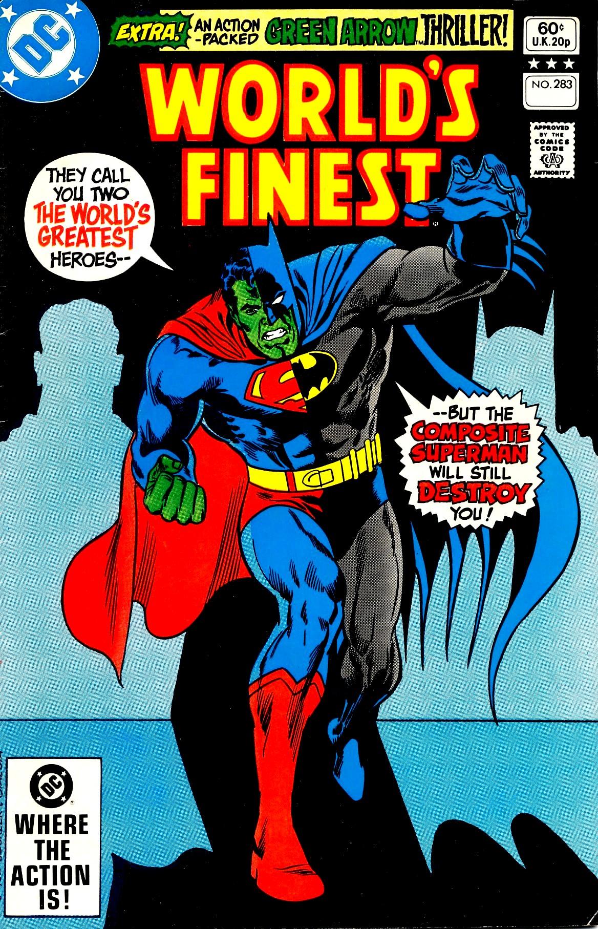 Read online World's Finest Comics comic -  Issue #283 - 1