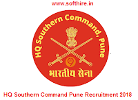 HQ Southern Command Pune Recruitment