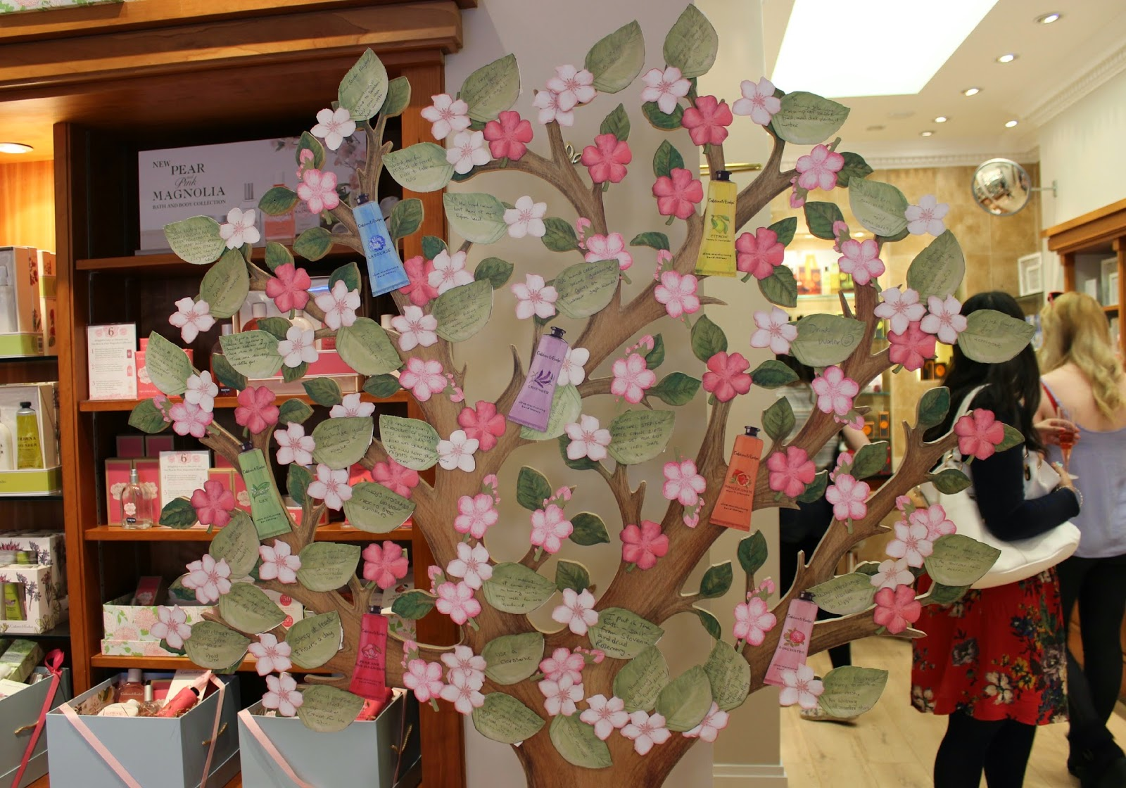 A picture of the Crabtree & Evelyn #CrabtreeHandyTips Tree
