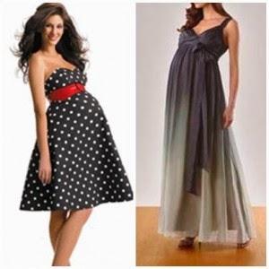 Model Baju Pesta Untuk Wanita Hamil