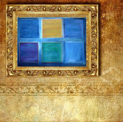 Painting Sized Digital Picture Frames