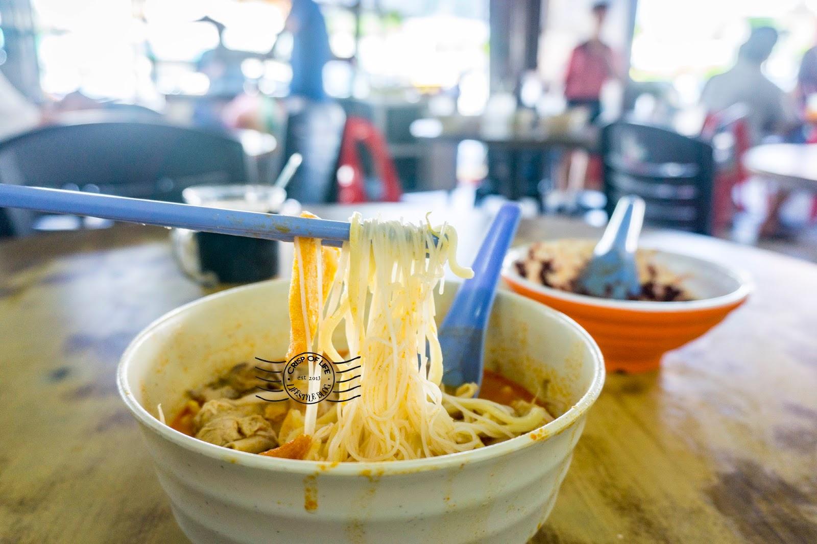 Curry noodle in Alor Setar Lai Huat