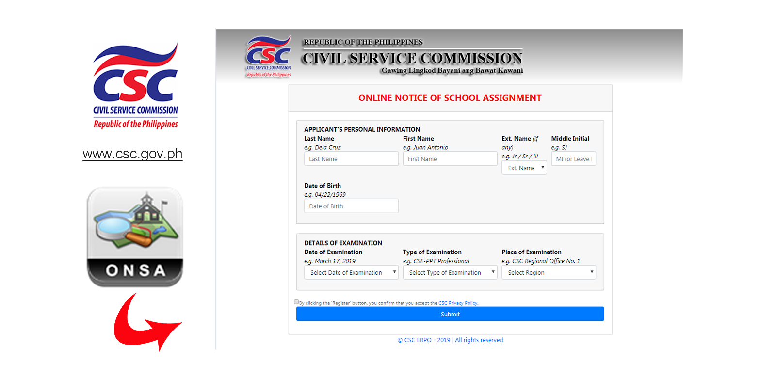 Civil Service Exam PH