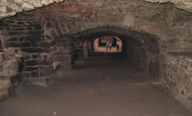 Inside view of the Golconda Fort