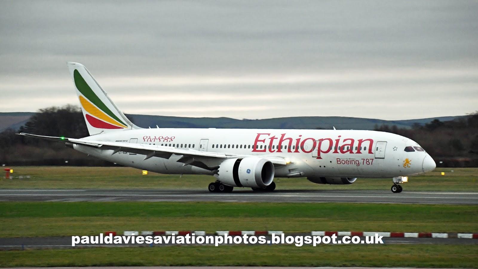 Paul Davies Aviation Photos: Manchester (EGCC/MAN) Ethiopian Boeing