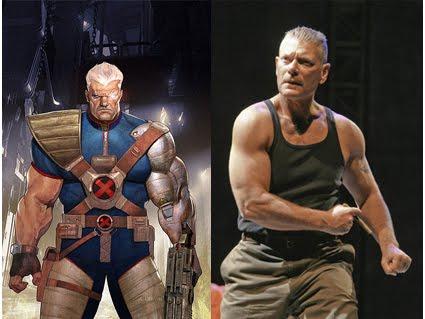 Stephen Lang sendo comparado a Cable (não teria melhor Cable).