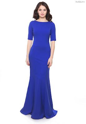 Vestidos de Noche Azules