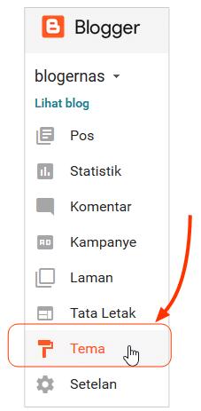 Cara Membuat Elemen Main Postingan pada Template Blog