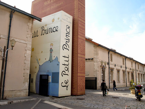 The Little Prince at The Méjanes Library