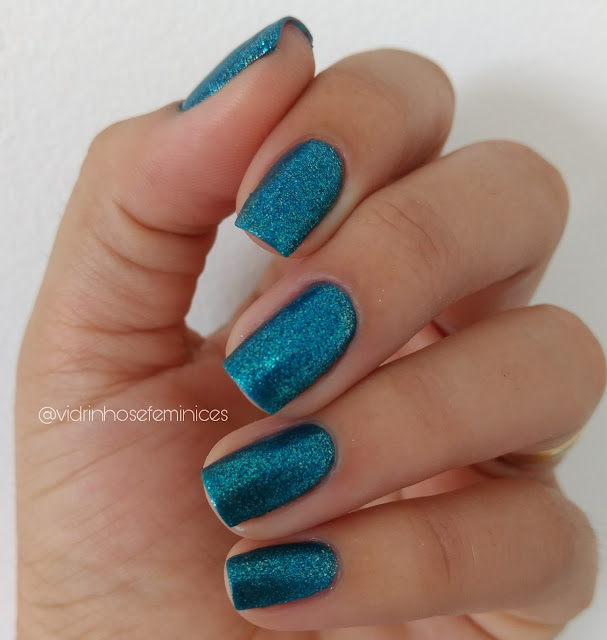 Bright Blue - BeautyColor  + Base fosca