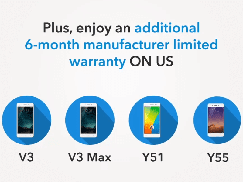 Vivo Philippines extends warranty on select smartphones, announced FREE software update service too
